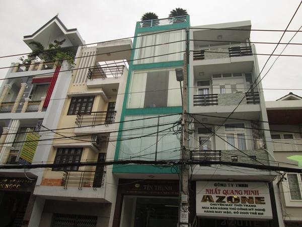 sơn mới nhà phố